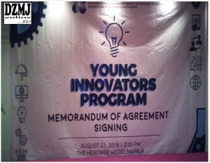The Youth Innovate.. MOA with DOST