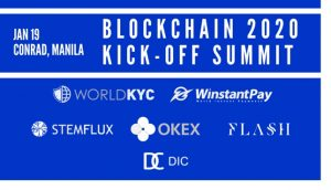 Blockchain 2020 Kick Off Summit in Manila