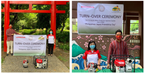 Honda Philippines Donates Water Pumps  for Rizal Park