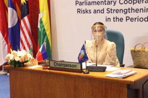 Filipina lawmaker promotes DOST-FPRDI bamboo-framed face shield
