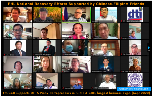 Chinese Filipino Community latest 1 million donation to support the Philippine Recovery Efforts