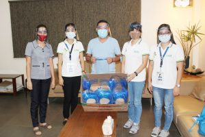 DOST-X Donates Face Shields to Mis. Occ. Frontliners