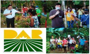 Castriciones distributes agri lands in Coron through Serbisyong DAR-to-Door