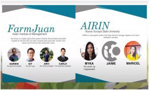 AIM FarmJuan team and NVSU AIRIN team recognized as Young Innovators Olympics 2.0 finalists