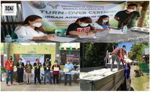 Siquijor farmers receive high value crops interventions