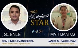 Public school teachers from Region X, NCR hailed 2020 Brightest STARs