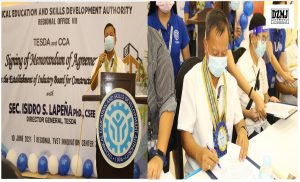 TESDA signs MoA with Cebu contractors to boost workforce