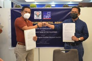 DA and DBP Sign Supplemental MOA for the Fertilizer Discount Support Project